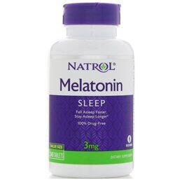 Melatonin 3 mg Natrol 240 таб.