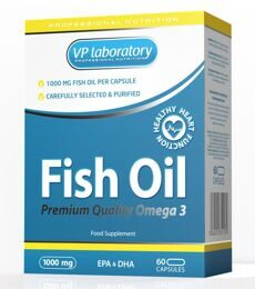 Fish Oil 1000mg VP Laboratory 60 капс.