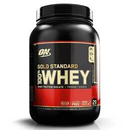 100% Whey Gold Standard Optimum Nutrition 908 гр. USA