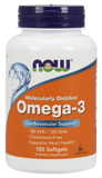 Omega-3 1000 мг NOW 100 капс.