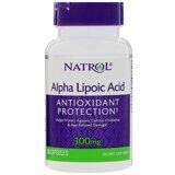 Alpha Lipoic Acid 300 мг Natrol 50 капc.