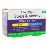 Stress & Anxiety Day & Night Natrol 60 таб.
