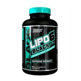 LIPO-6 Black Hers Nutrex Research 120 шт.