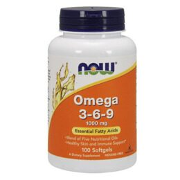 Omega 3-6-9 1000 мг NOW 100 капс.