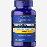 Super Snooze Complex With Melatonin Puritan`s Pride 100 капс.