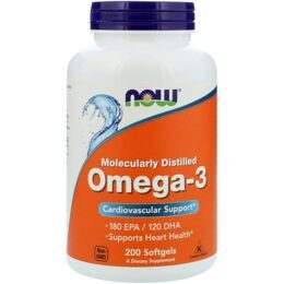 Omega-3 Fish Oil NOW 200 капс.