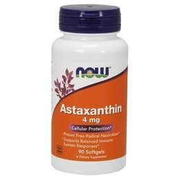 Astaxanthin 4 мг NOW 90 капс.
