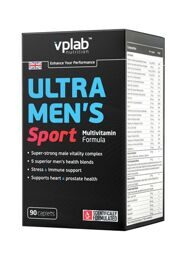 Ultra Men's Sport Multivitamin Formula VP Laboratory 90 кап.