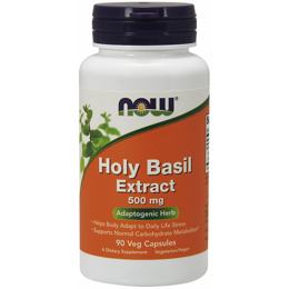 Holy Basil Extract 500 мг NOW 90 капс.
