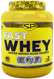 FAST WHEY STEEL POWER NUTRITION 1800 гр.