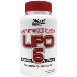 LIPO-6 International Nutrex Research 120 капс.