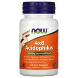 4X6 Acidophilus NOW 60 капс.