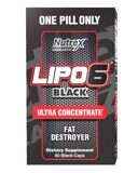 LIPO-6 Black Ultra Concentrate Nutrex Research, 60 шт.
