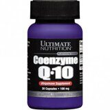 Coenzyme Q-10 100 мг Ultimate Nutrition 30 капс.