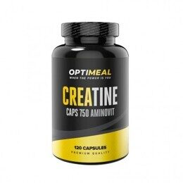 Creatine Monohydrate OptiMeal 750 мг 120 капс