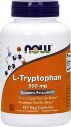 L-Tryptophan 500 мг NOW 120 капс.