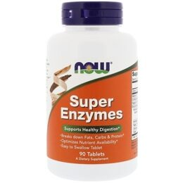 Super Enzymes NOW 90 таб.