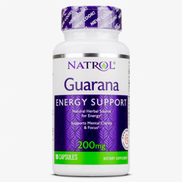 Guarana 200 mg Natrol 90 кап.