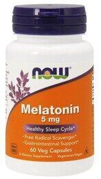 Melatonin 5 mg NOW 60 капс.