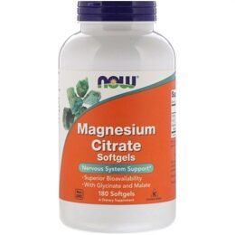 Magnesium Citrate NOW 180 капс.
