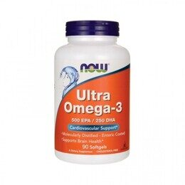 Ultra Omega-3 NOW 90 капс.