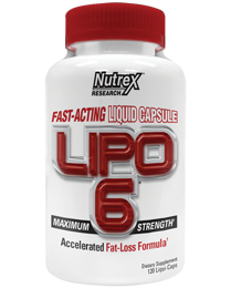 LIPO-6 Nutrex Research, 120 капс.