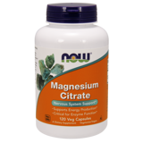 Magnesium Citrate 400 мг NOW 120 капс.