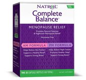 Complete balance for menopause AM-PM Natrol 60 капс.